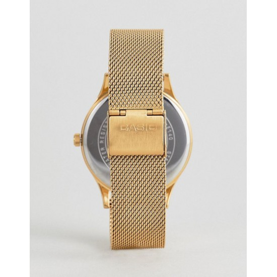 Ceas CASIO CLASSIC GOLD MESH GOLD  New! LTP-E140G-9A