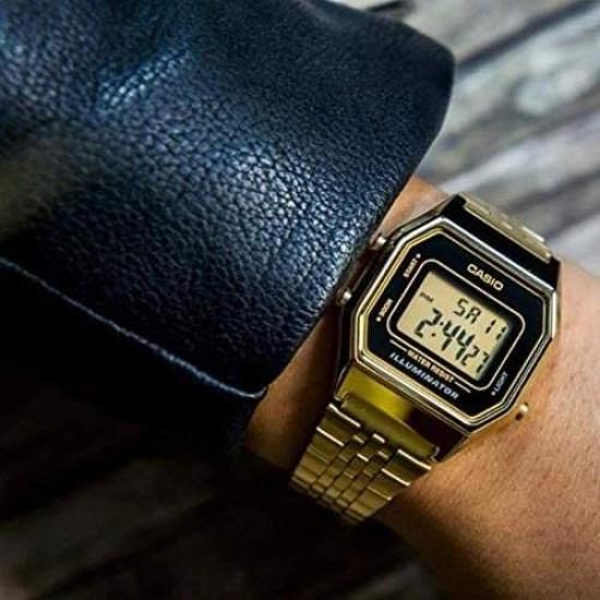 Ceas Dama, Casio, Vintage Lady Gold LA-680WG-1