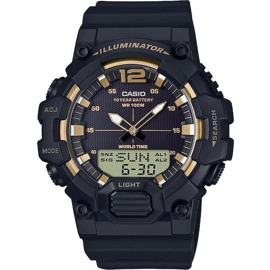 Ceas Barbati CASIO ILLUMINATOR Black /Gold HDC-700-9A