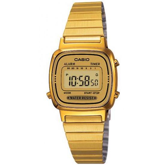 Ceas Dama CASIO VINTAGE LADY GOLD LA-670WG-9