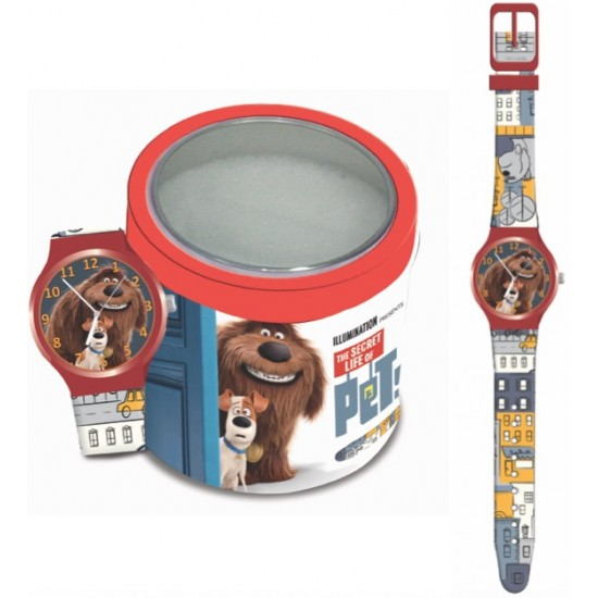 Ceas Junior WALT DISNEY KID WATCH Model PETS - Tin Box 504116